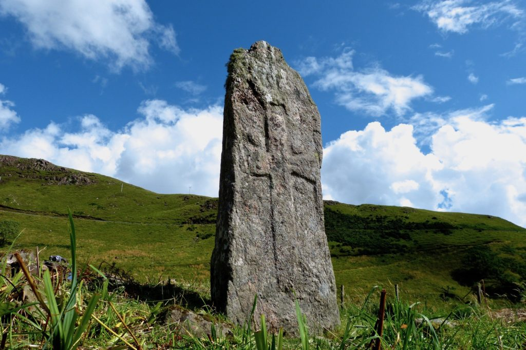 Standing Stone at Camas nan Geall