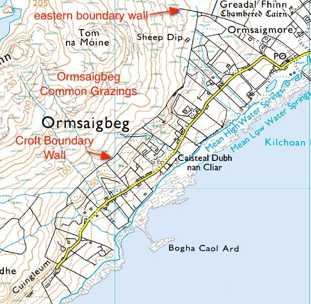 Ormsaigbeg Map