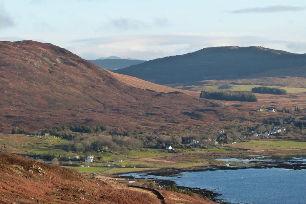 Kilchoan view from west