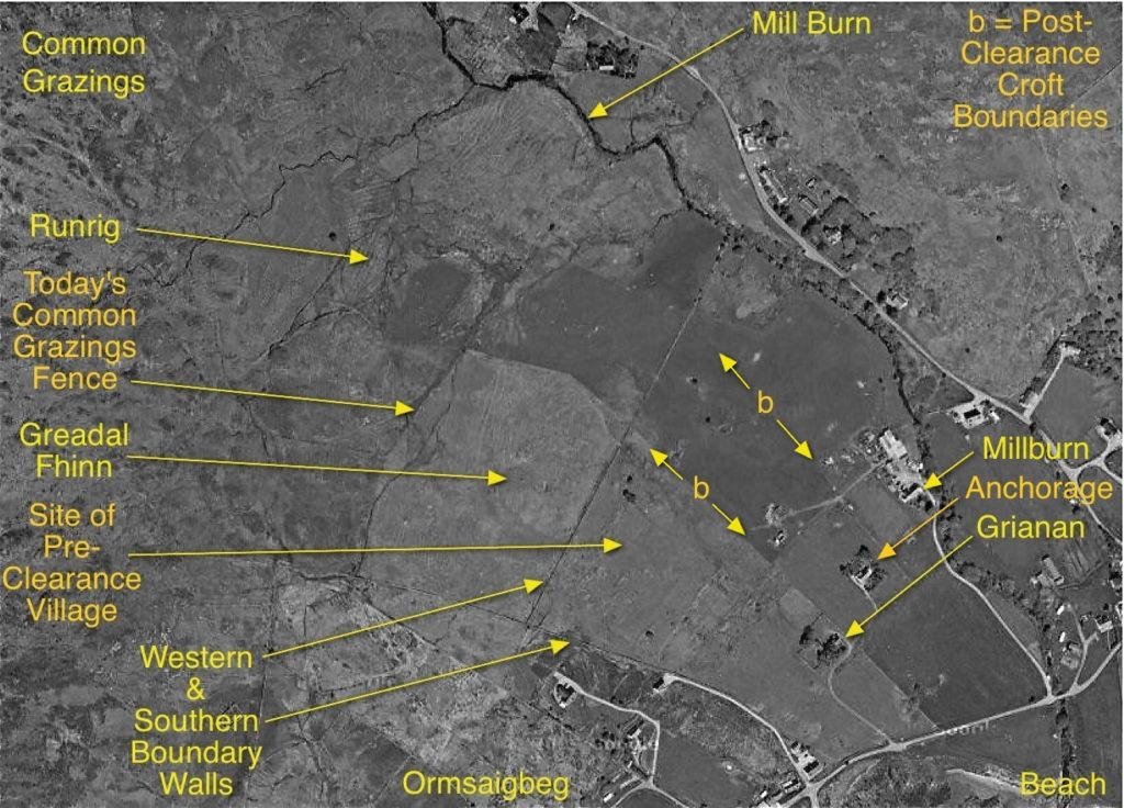 Ormsaigmore Today map