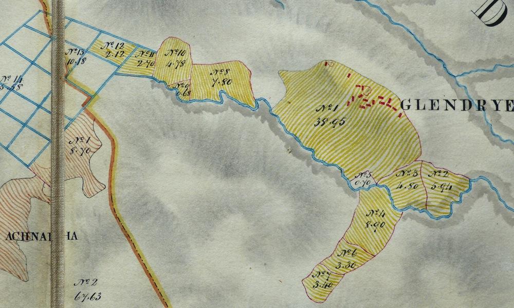 Bald map 1806