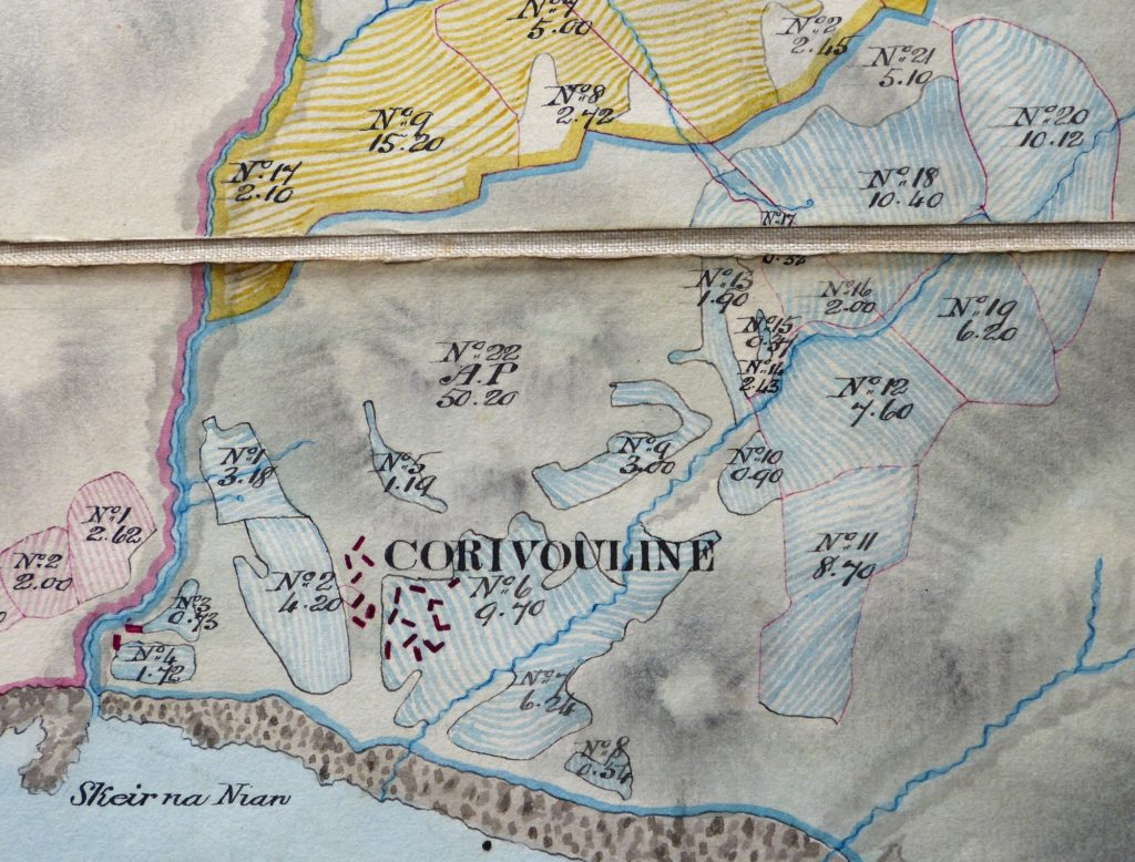 Choiremhuilinn map Bald