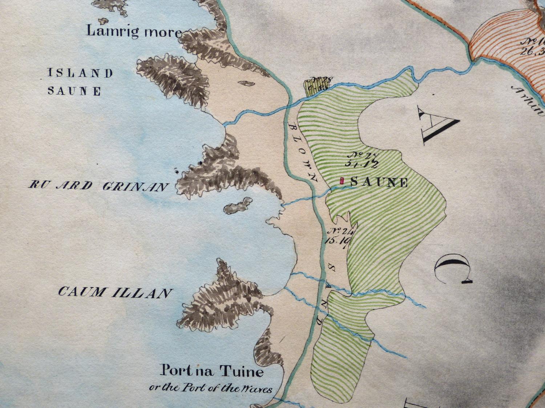 Sanna Bald's map 1806
