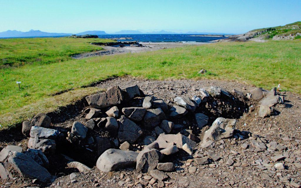Viking Boat Burial at Swordle