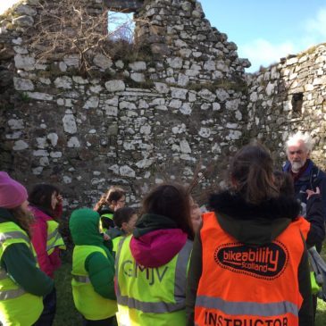 Kilchoan Pupils Visit St Comghan's Church